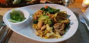 Pad thai au porc