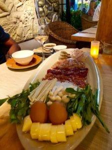 Mukata fondue thaï au One O One a Lamai
