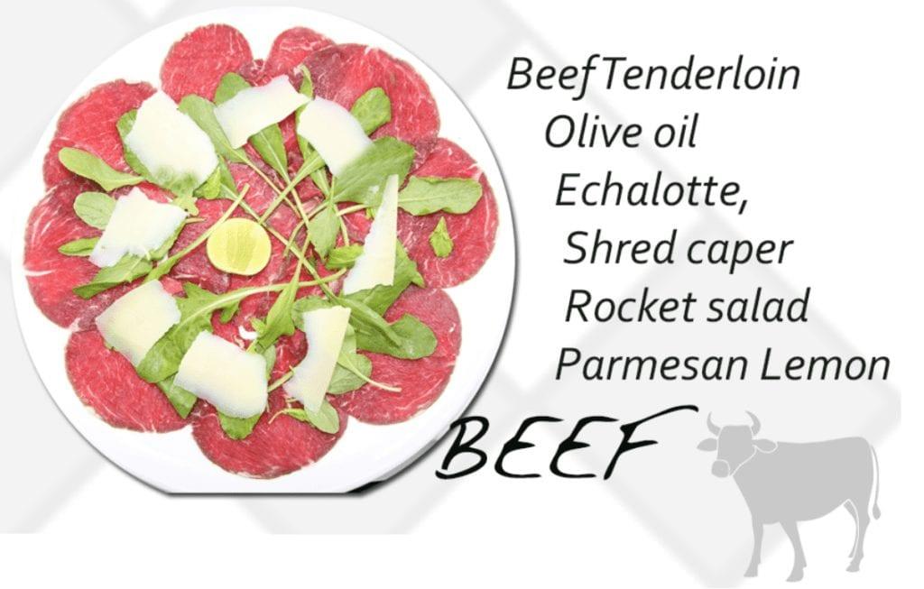 Carpaccio Beef