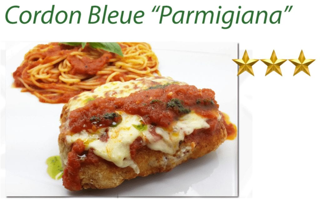Cordon Bleu Parmigiana