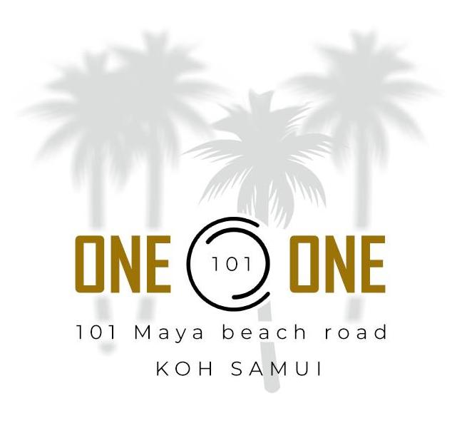 Logo du One O One, Bar lounge et Restaurant a Lamai.