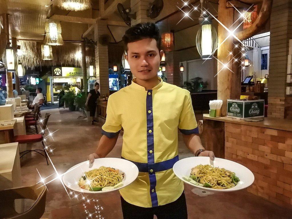 One O One le restaurant Thai a Lamai Beach (Koh Samui).