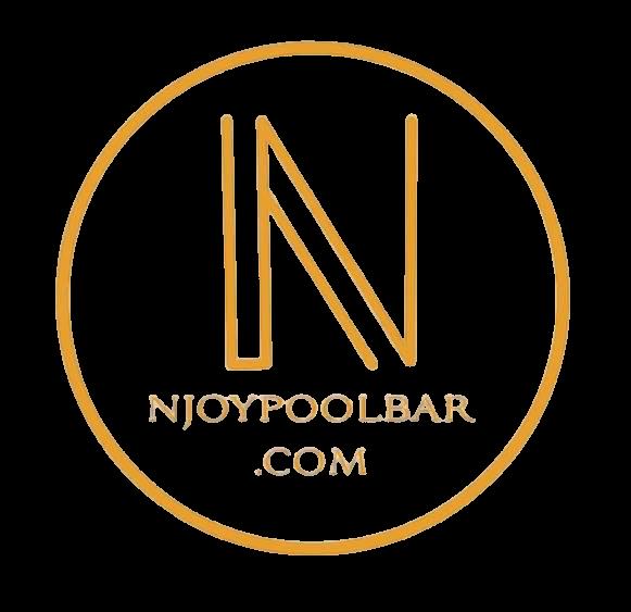 Logo N'Joy Pool Bar Nouvel An 2021
