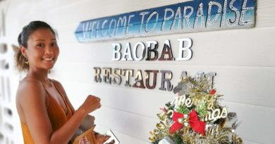 Indy du Baobab Restaurant sur Lamai Beach a Koh Samui